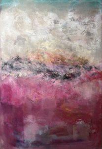"Courtney Kolker, ""Something Anna"", 36"" x 24"", Acrylic on Canvas"