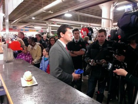 Erie County Executive Mark Poloncarz Pardons Butter Lamb