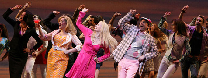 Image result for legally blonde broadway