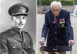 Captain Tom Moore - 100yrs on 30.04.2020