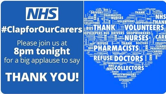 Clap for the NHS