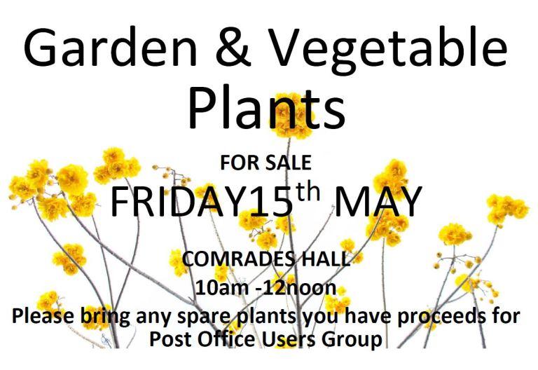Garden Plants at the P.O.