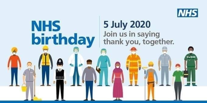 Happy 72nd Birthday NHS