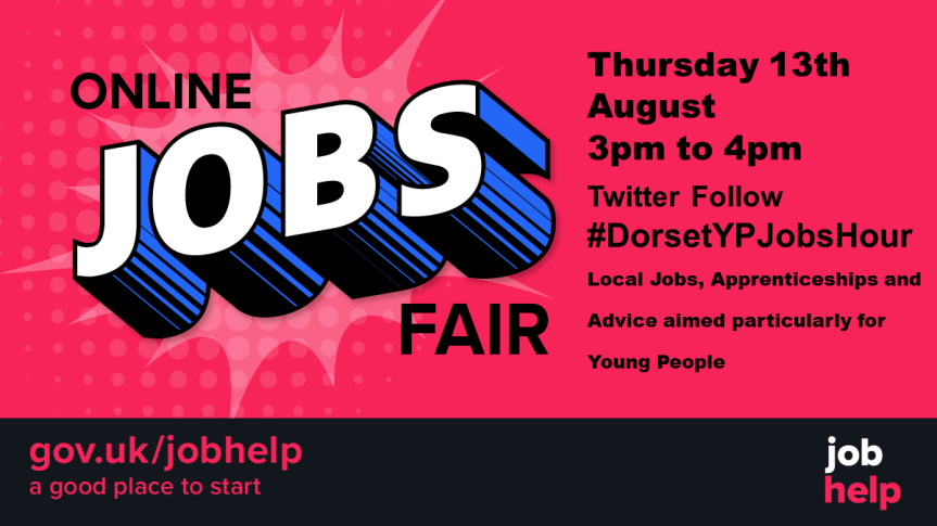 Dorset Jobs for Young People on Twitter – Thursday, August 13th