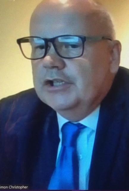 Councillor Simon Christopher's Report