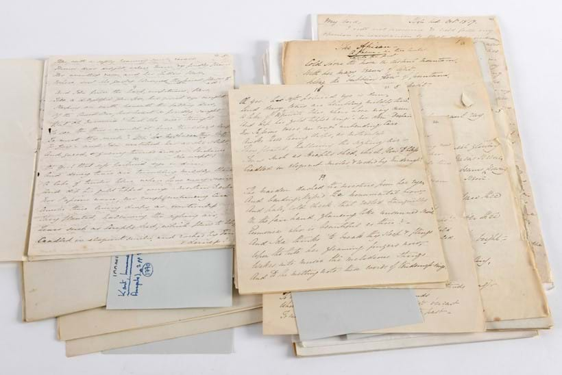 Rare Archives Sold at Lawrences' Auctioneers