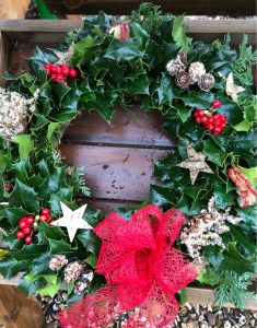 Christmas Wreath by Little Groves