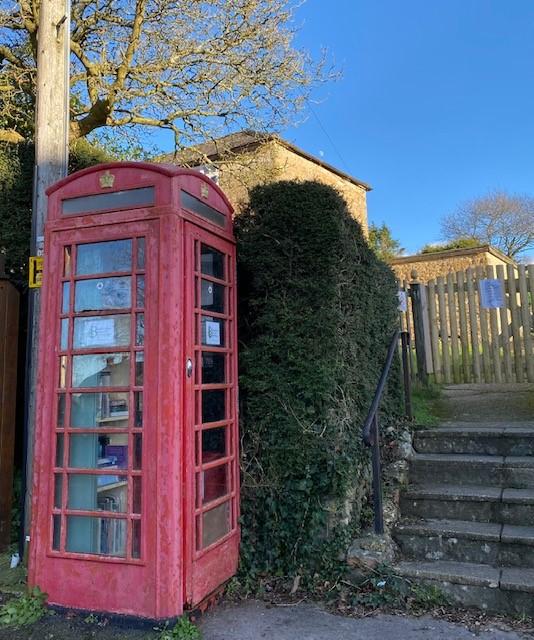 Telephone Box Book Exchange Update