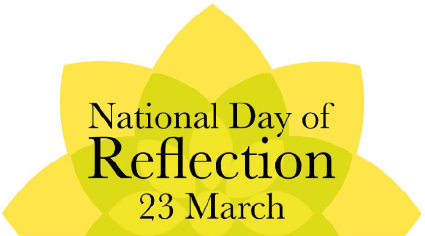 A Day of Reflection – 23rd March 2021