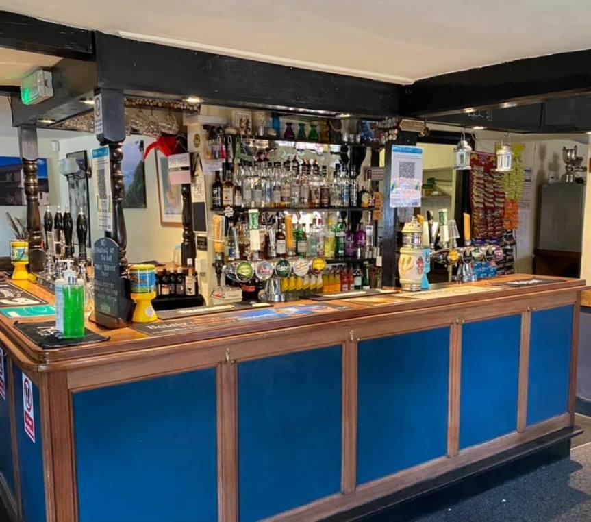 The Knapp Inn – Open At 12 Noon, Monday 17th May
