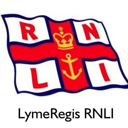 RNLI Lyme Regis Thank Broadwindsor Community