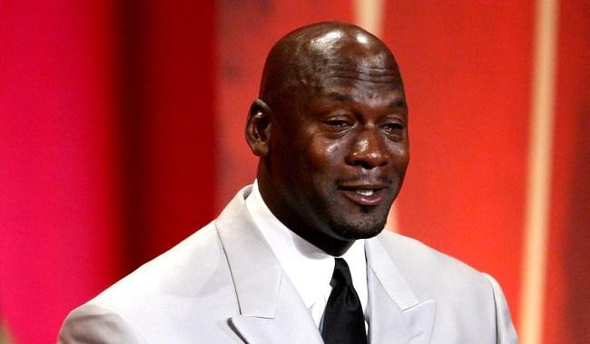 Donald Trump Crying Michael Jordan Know Your Meme Crying
