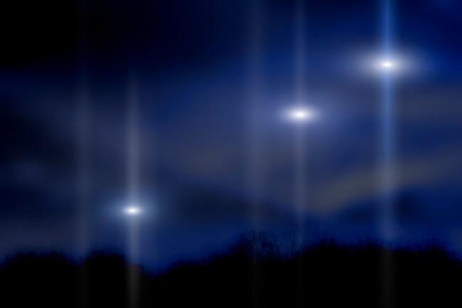 fleet of ufos hovering over arizona captured on video brobible