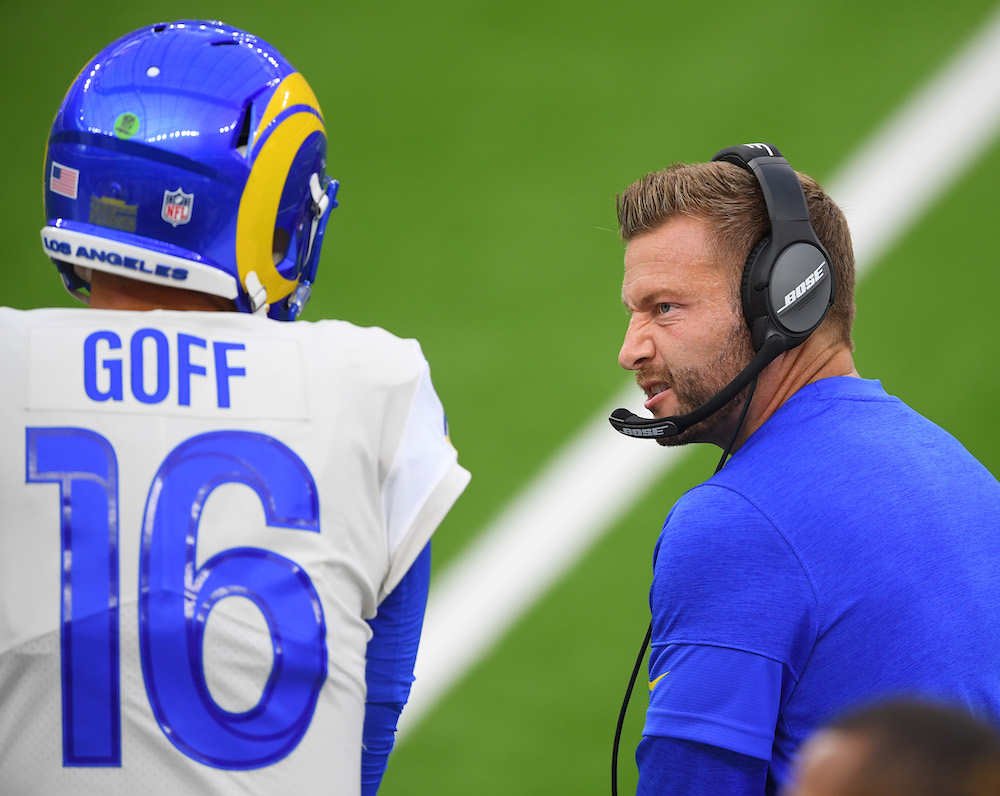 Rams' Sean McVay And QB Jared Goff Need 'Marriage Counseling' To Repair Rocky Relationship, Per Report