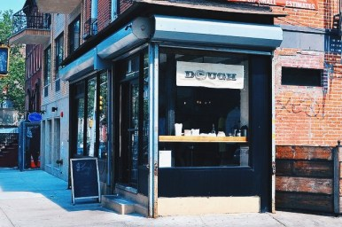 Dough is a new establishment in Bedford Stuyvesant, Brooklyn. Normally I'm not as okay with establishments like these so bravely moving in on corners across from unsafe housing projects. Dough is the exception. Words can't really describe why their donuts are so good. You really just have to experience it. The G train to Classon Avenue will get you there.