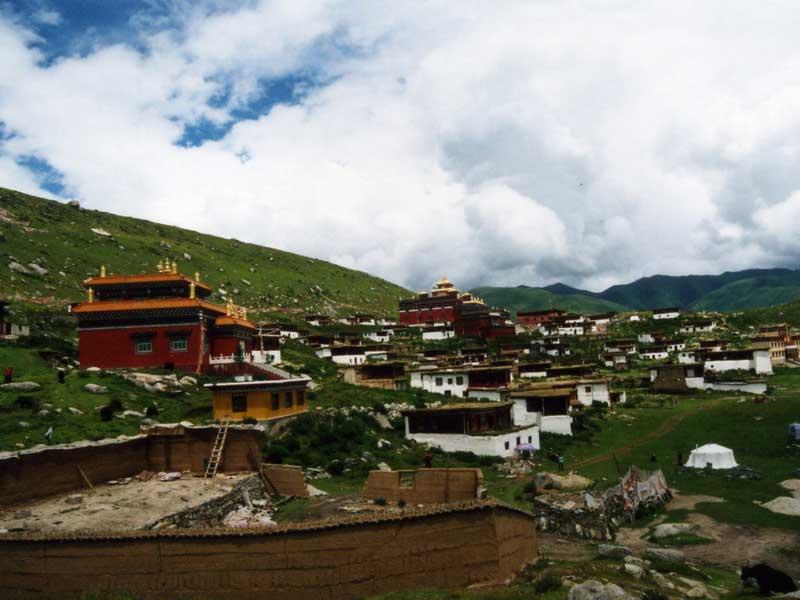 Dzogchen main hall