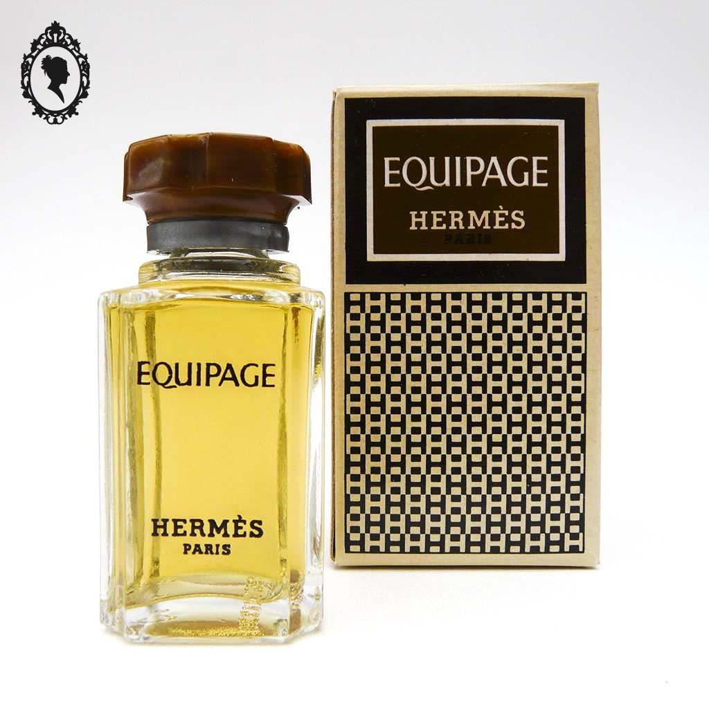 Rare Miniature De Parfum équipage Hermès Eau De Toilette Ancienne Et