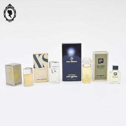 Miniature de parfum, miniature de parfum femme homme, miniature, parfum, petit parfum, parfum français, parfum France, parfum Paris, Paco Rabanne, Rabanne, XS, La nuit de Paco, miniature Rabanne, lot miniatures Rabanne, miniature neuve, collection parfum, parfumerie, objet de parfumerie, parfum luxe, luxe, parfum femme, miniature rare, miniature collection, miniature de parfum, miniature à collectionner, lot miniatures de parfum, lot miniature, lot miniatures,