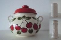 Kirsebærsuppeterrin og andre funky gjenstander