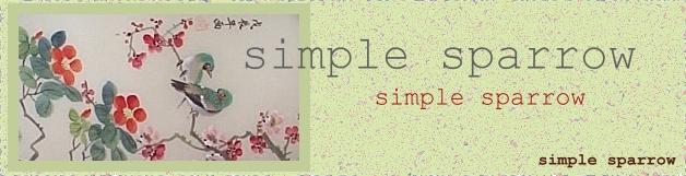 Simplesparrow
