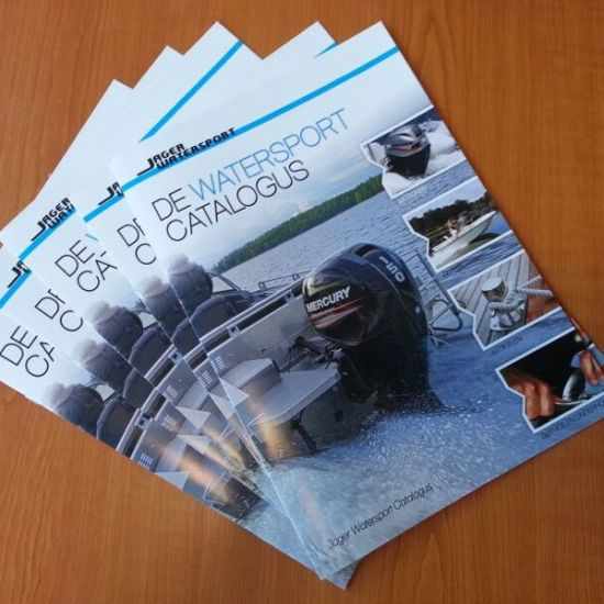 Brochure ontwerp, Jager Marine Service