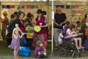 craft workshops at Art In The Park