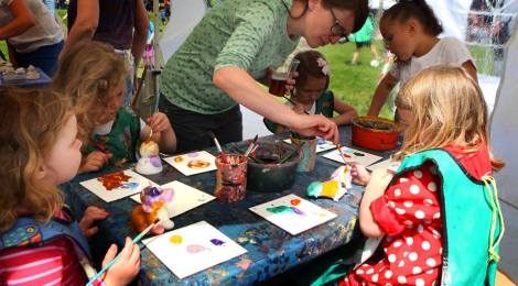 Children's workshops at Brockley Max 2014