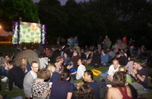 Brockley Max film night Brockleywood Nights, 2011