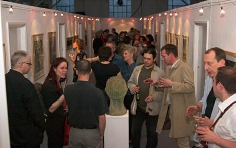 Lewisham ArtHouse exhibition attendees