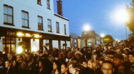 Crowd at Brockley Max Opening Night