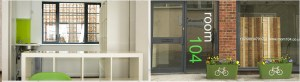 Green Tea Artchitects' Room 104 studio space