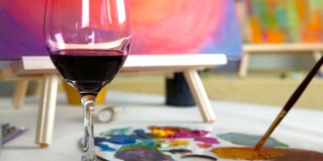 Paint Circus: An evening of art & wine