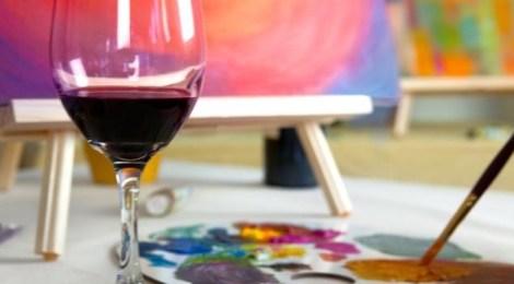 Paint Circus: An evening of art & wine