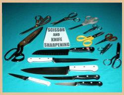 Knife & Scissor Sharpening