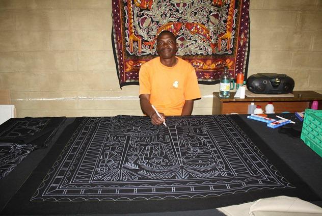 artiste sud africain Kaross factory