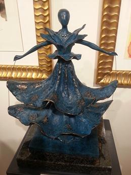 sculpture Dali la danseuse dalinienne
