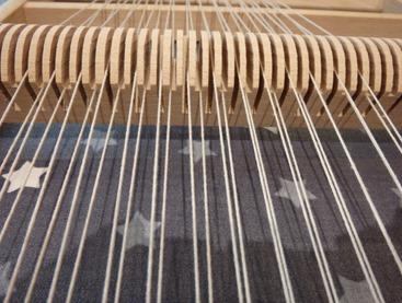 organisation des fils de chaine