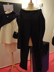 recyclage veste réalisée dans un pantalon par Olivier Petigny