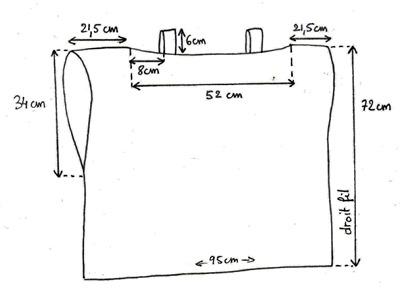 schéma blouse diy facile