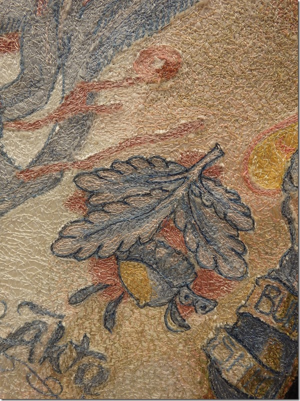 tableau textile tatouage zoom
