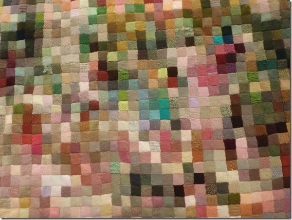 Zoom tableau de Monet au tricot