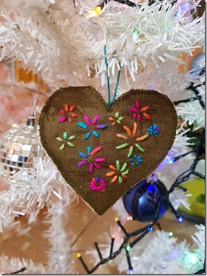 decoration de noel DIY coeur