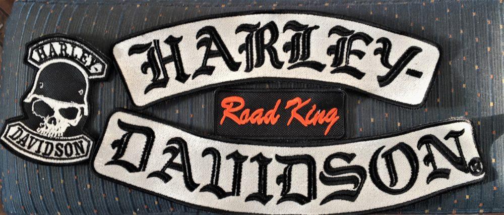 Бродерия Harley Davidson