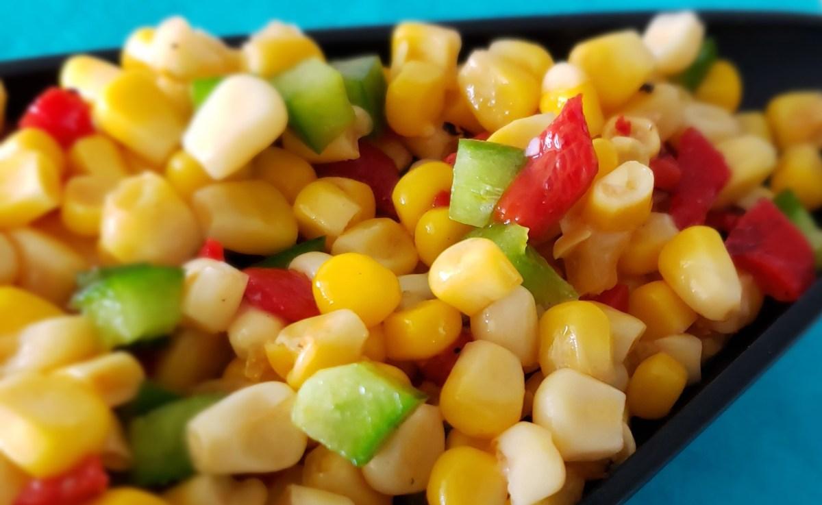 Salade de mais à la mexicaine
