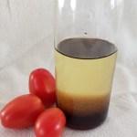 Vinaigrette au sirop d'érable et de bouleau