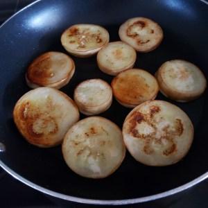 Griller les aubergines