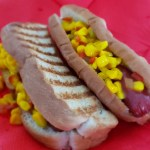relish au maïs pour hot-dogs