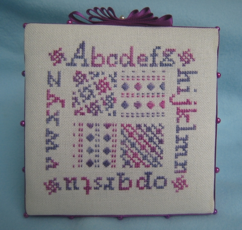 pinkeep pt de croix 12x12 cm