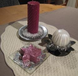 décoration bougies