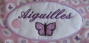 etiquette aiguilles tricot